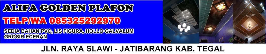 ALIFA GOLDEN PLAVON- Distributor Plafon Pvc Tegal